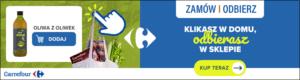 Carrefour - kliknij i odbierz zakupy w sklepie - banerek